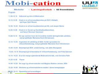 Mobi cation fra grundskole til erhvervslivet