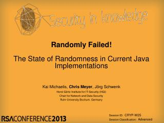 Randomly Failed! The State of Randomness in Current Java Implementations