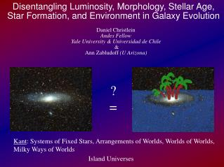Disentangling Luminosity, Morphology, Stellar Age, Star Formation, and Environment in Galaxy Evolution