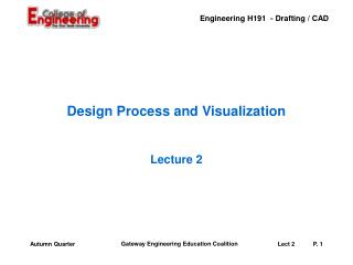 Design Process and Visualization