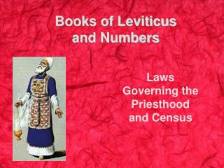 Books of Leviticus  and Numbers
