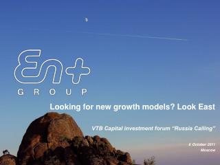 Looking for new growth models? Look East
