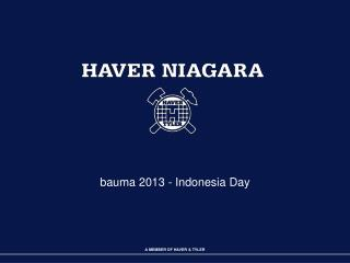 bauma 2013 - Indonesia Day