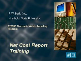CIWMB Electronic Waste Recycling Program