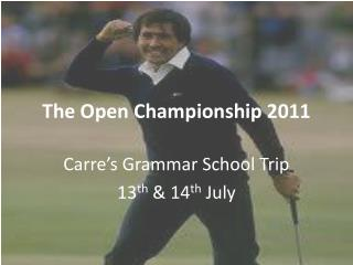 The Open Championship 2011