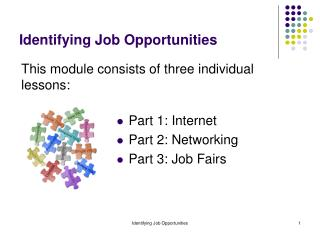 Identifying Job Opportunities