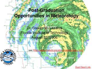 Post-Graduation Opportunities in Meteorology