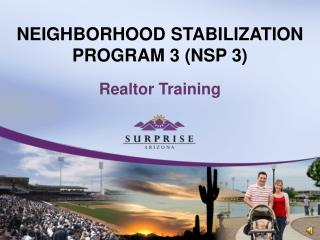 NEIGHBORHOOD STABILIZATION PROGRAM 3 (NSP 3)