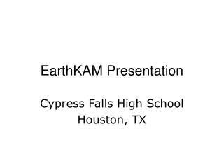 EarthKAM Presentation