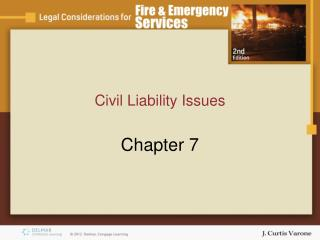 Civil Liability Issues
