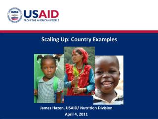 Scaling Up: Country Examples