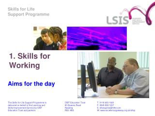 1. Skills for Working