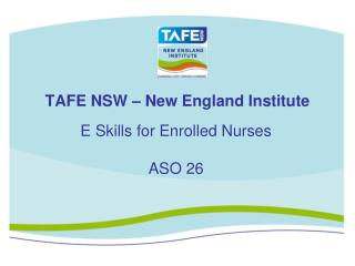 TAFE NSW – New England Institute