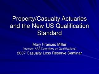 2007 ASA Code Changes