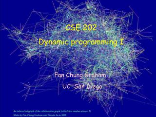 CSE 202 Dynamic programming I