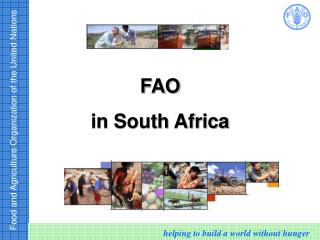 FAO   in South Africa
