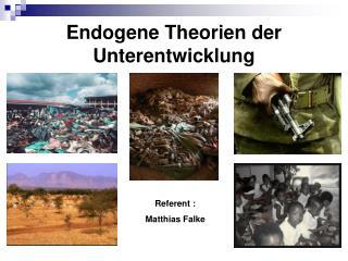 Endogene Theorien der Unterentwicklung