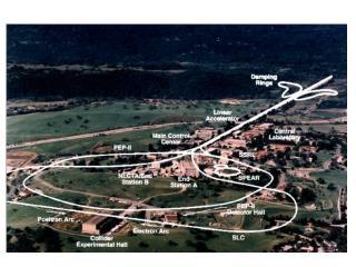 SLAC Aerial View