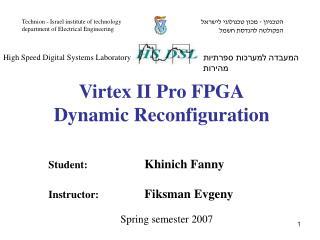 Student:   Khinich Fanny Instructor:  Fiksman Evgeny
