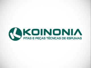 Fabricante de fitas e peças técnicas de espumas em: PE , PU, EPDM, Neoprene, PVC, Feltros, Filtral, Espuma Elastomerica