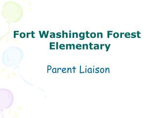 Fort Washington Forest Elementary