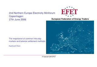 European Federation of Energy Traders