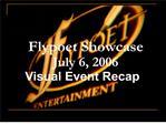 Flypoet Showcase Recap
