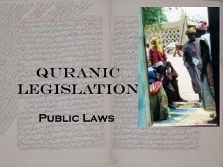 Quranic Legislation