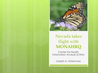 Nevada takes flight with MONAHRQ