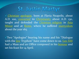 an analysis of saint justin martyrs views of jews in dialogue with trypho the jew