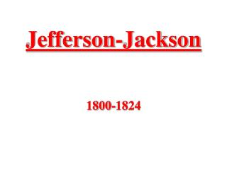 Jefferson-Jackson