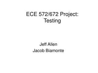 Jeff Allen  Jacob Biamonte