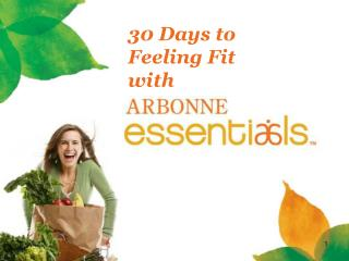 30 Days to Feeling Fit with