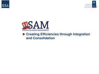 Creating Efficiencies through Integration and Consolidation