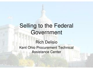 Selling to the Federal Government
