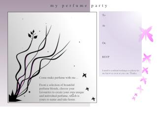 my perfume party
