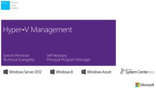Hyper-V Management