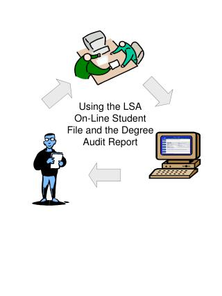 Using the LSA On-Line Student File and the Degree Audit Report