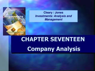 CHAPTER SEVENTEEN Company Analysis