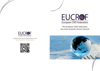 The European CRO Federation,  one  voice towards clinical research