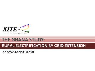 THE GHANA STUDY: