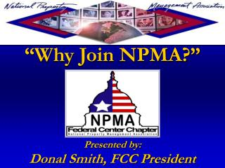 �Why Join NPMA?�