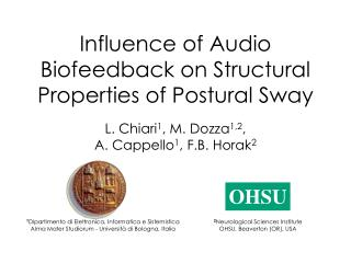 Influence of Audio Biofeedback on Structural Properties of Postural Sway