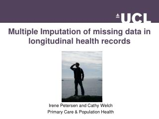 Multiple Imputation of missing data in  longitudinal health  records