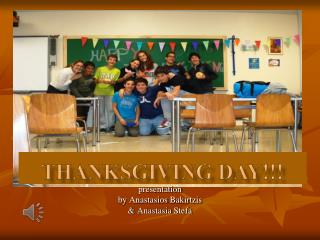 Thanksgiving day!!!