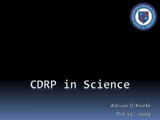 CDRP in Science