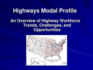 Highways Modal Profile