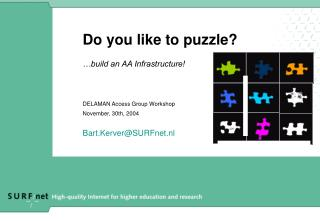 Do you like to puzzle?