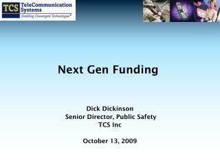 Next Gen Funding