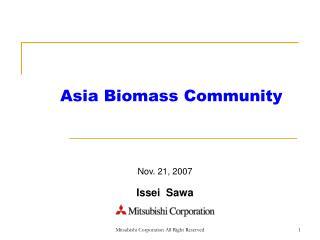 Asia Biomass Community